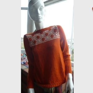 Hand made sweater from 1940s Pattern